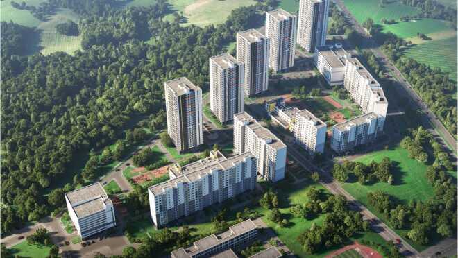 ЖК Заповедный парк